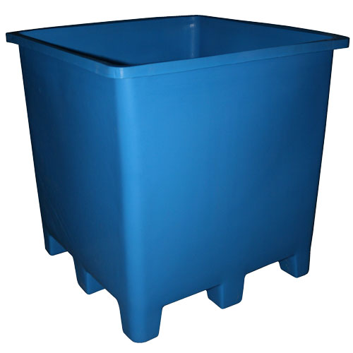 BT-61 - BT Series Sixty-One Cubic Foot Bulk Tub - 48 x 48 x 48