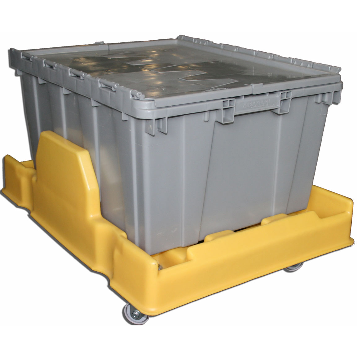 DOL-2420 - DOL Series Plastic Dolly for 24 x 20 Attached Lid Container - 24 x 20