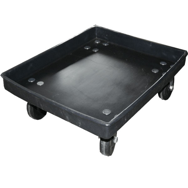 DOL-2717 - DOL Series Plastic Dolly for 27 x 17 Attached Lid Container - 27 x 17