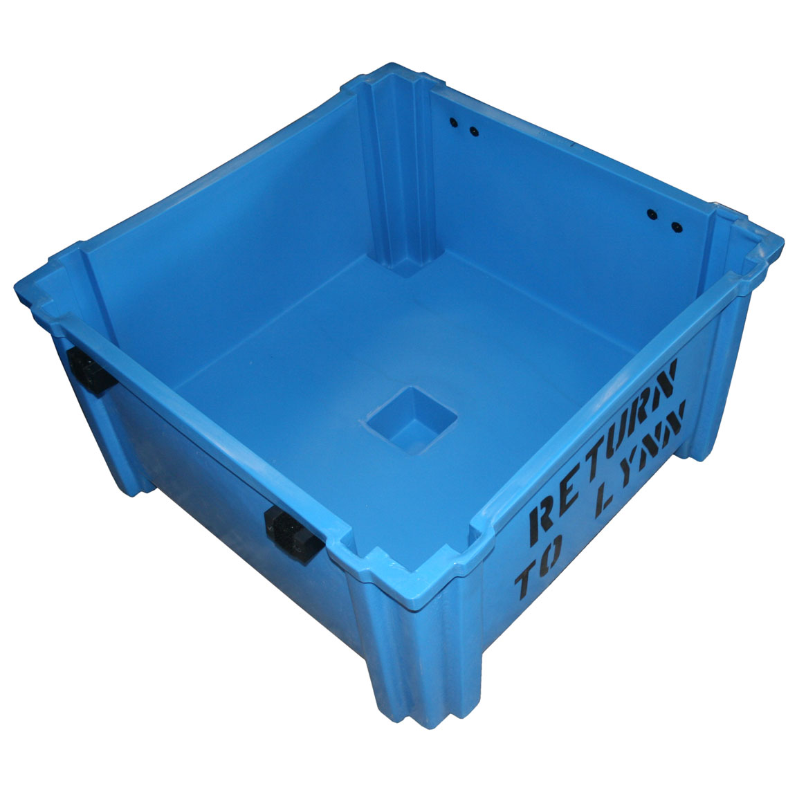 HL-702 - HL Series High-Load Stacking Container - 40.5 x 40.5 x 29.5