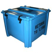 HL-703 - HL Series High-Load Stacking Container - 40 x 40 x 18