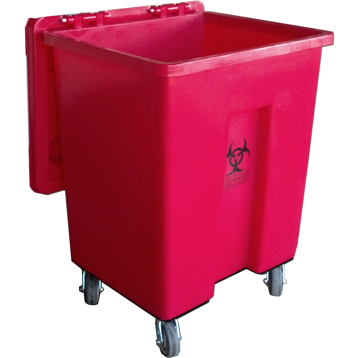 MW-100 - MW Series 100 Gallon Regulated Medical Waste Cart - 27 x 23.5 x 38