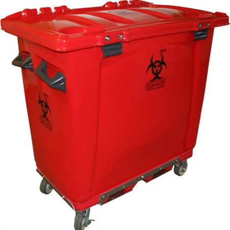 MW-201 - MW Series 200 Gallon Regulated Medical Waste Cart - 45 x 25 x 38