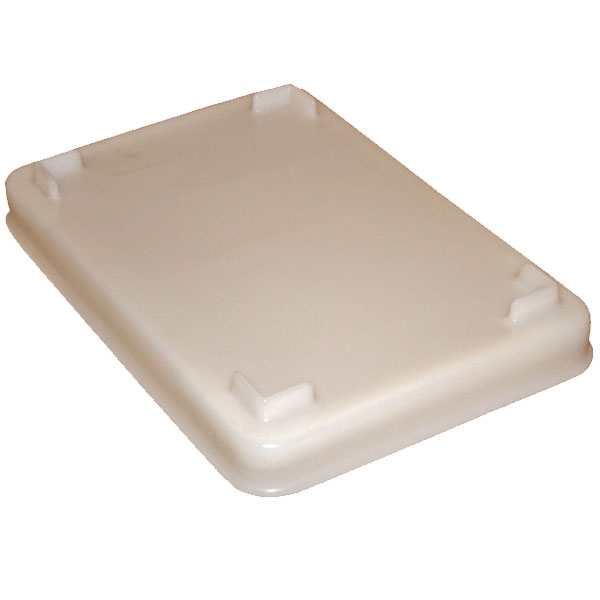 NT-3L - NT Series Lid for Three-Bushel Nesting Tote - 31 x 22 x 2