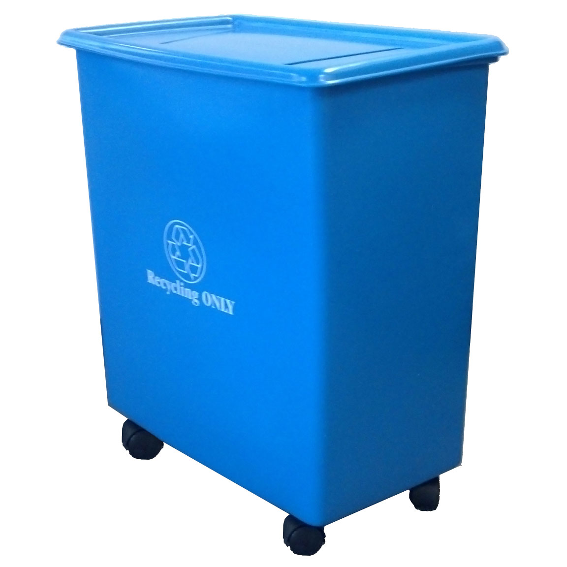 RC-32 - RC Series Thirty-Two Gallon Mobile Recycling Container - 22.75 x 13 x 25