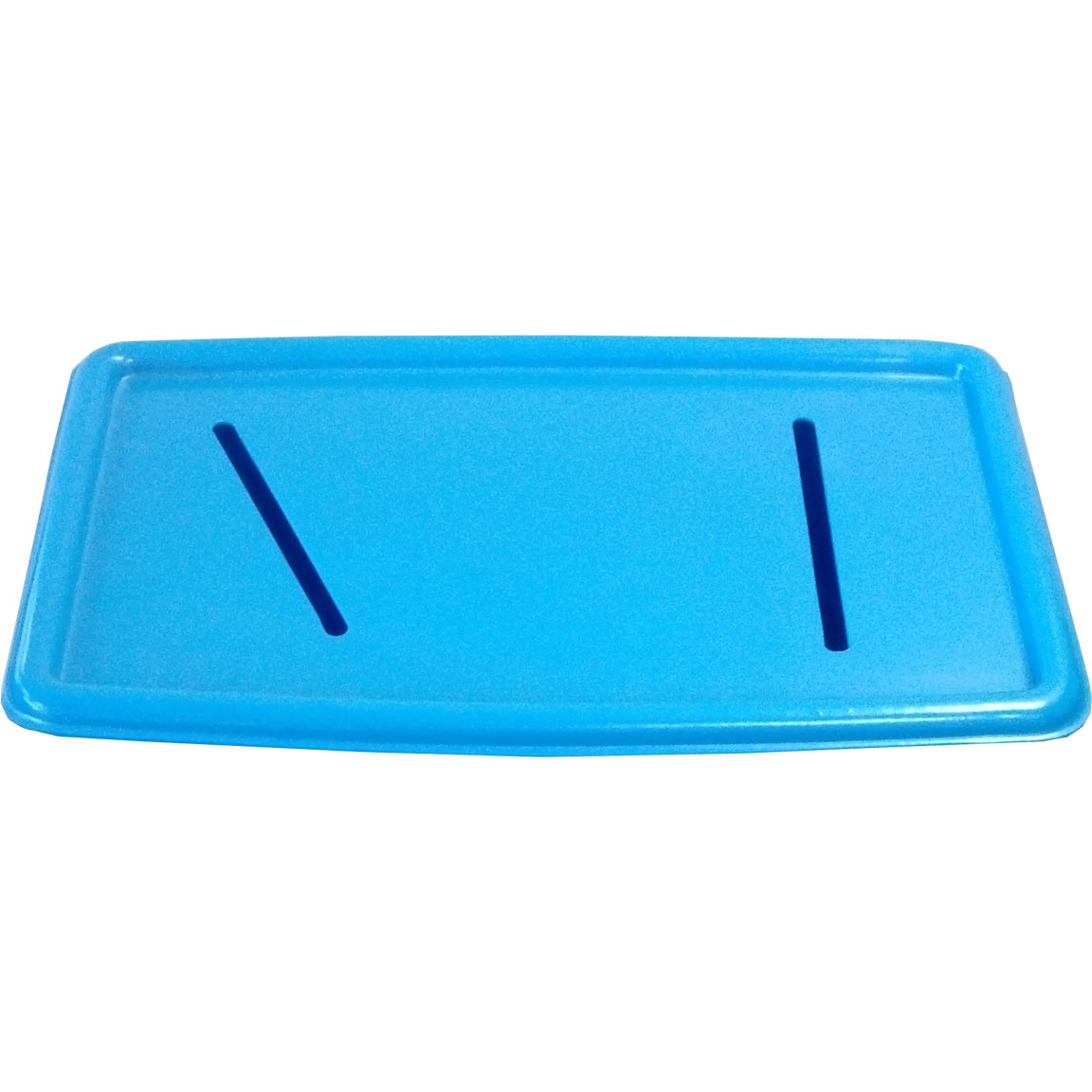 RC-32L - RC Series Thirty-Two Gallon Mobile Recycling Container Lid - 25 x 15.5 x 1