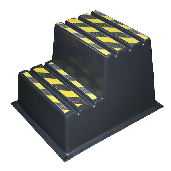 SS2 - SS Series Two-Step Safety Step Stand  - 24 x 27 x 20