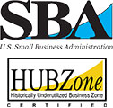 SBA HUB Zone certified